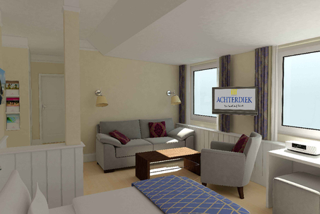 Hotel achterdiek innenarchitekt stefan schnell for Design hotel juist